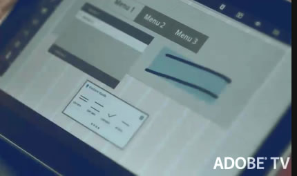 Adobe Touch Apps 「Proto」 のイメージビデオ