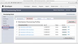 iOS Provisioning Portal