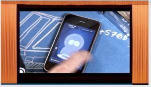 コレがiPhone上でFlashコンテンツが動いた最初の映像