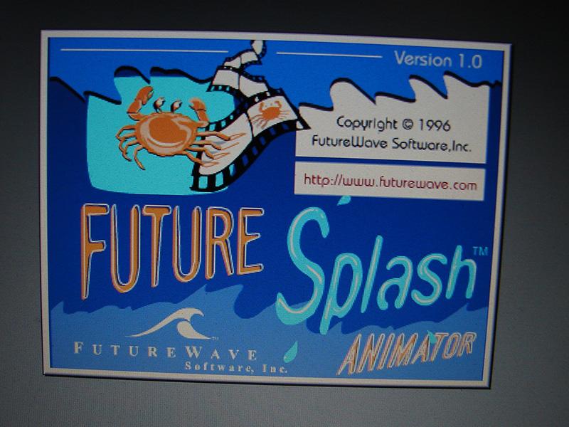 FutureSplash Animator の最新版リリース!とりあえずどんなものか