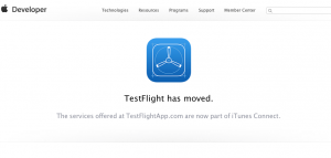 TestFlight has moved