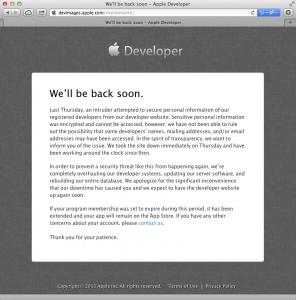 iTunes Connectは生きてるっぽいですね