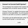 Xcode8 – Swift3への変換MEMO (1)