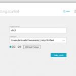 Unity uGUI 研究 (2) : 最初の一歩、画像とボタンを配置してみる