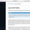 Firebase (iOS) : Twitterログイン ログイン動作テスト編