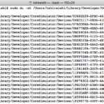 Mac : 肥大化しているフォルダがないか確かめて、SSDの空き容量を確保する