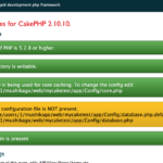 PHP5.6 + CakePHP 2.x のセットアップ